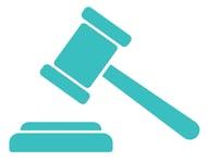 a gavel representing regulation